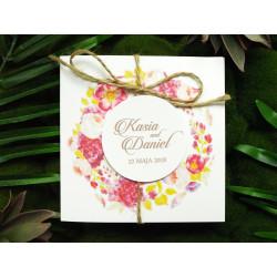Zaproszenia Ślubne Rustykalne Róże