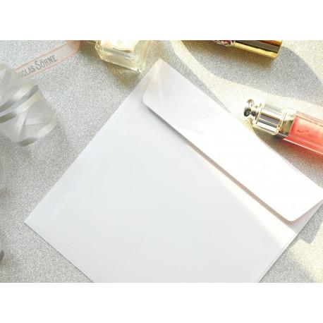 Koperta kwadratowa biała