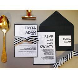 Zaproszenia Ślubne Limitowane - 2 karty