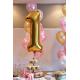 Girlandy z napisem i balonami