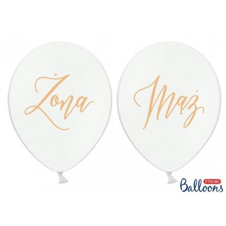 Biały balon Mąż Żona