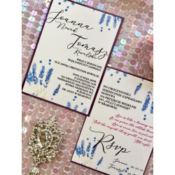 Zaproszenia Ślubne Lavende
