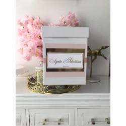 Luksusowe białe pudełko na koperty